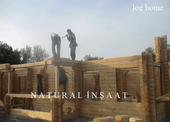 log home imalat
