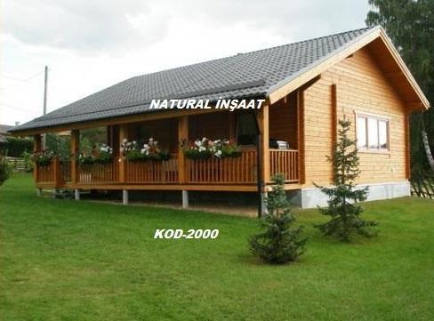 kod-2000kütük ev